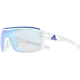 adidas Zonyk Pro Glasses L, white shiny/vario blue